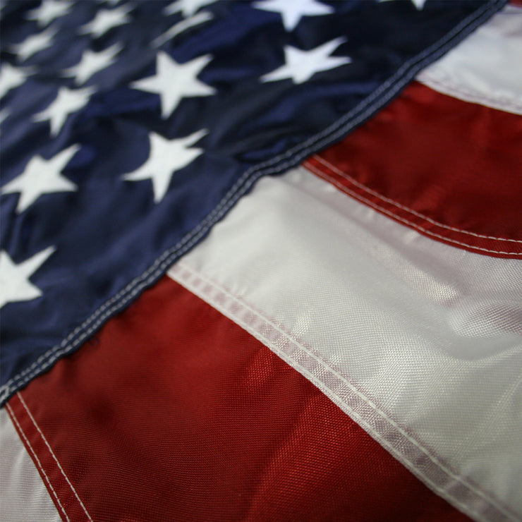 United States 3' x 5' Outdoor Nylon Flag - Made in the USA