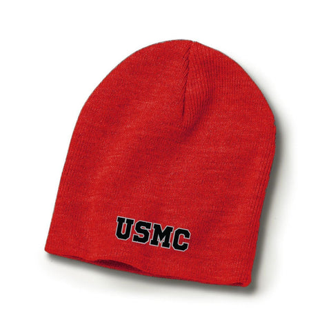 Image of The USMC Beanie - Covers- Leatherneck For Life
