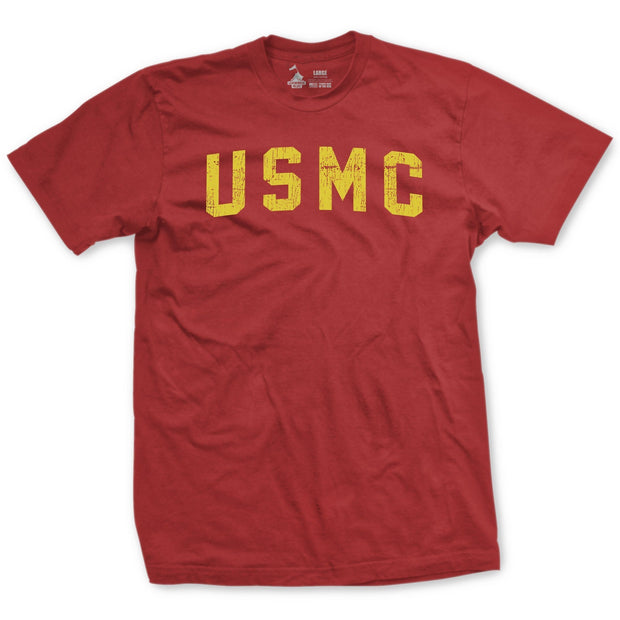 USMC Retro Vintage Red T-Shirt