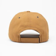 3D US Marines Work Wear Canvas Hat- Brown Insignia