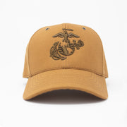 3D EGA Work Wear Canvas Hat- Brown Insignia