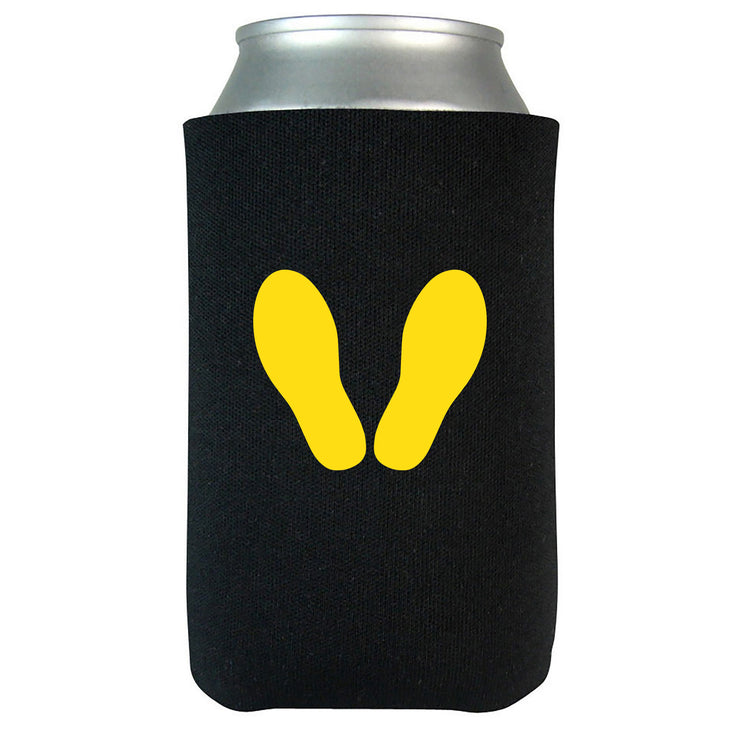 Yellow Footprints Beverage Coolie