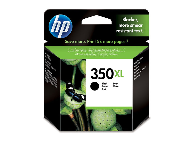 Genuine HP 350XL High Capacity Black Ink Cartridge - (Vivera CB336EE) - The Cartridge Centre