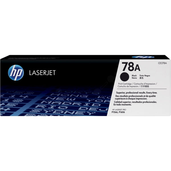 Genuine Black HP 78A Toner Cartridge - (CE278A Laser Printer Cartridge) - The Cartridge Centre