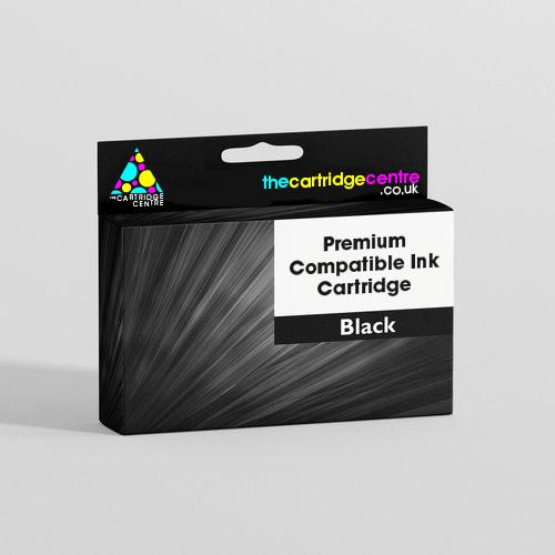Premium Compatible High Capacity Black Epson 16XL Ink Cartridge - (Replaces T1631 Pen and Crossword Inkjet Printer Cartridge)