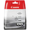 Genuine Canon BCI-3eBK Black Ink Cartridges Twin Pack - (4479A287) - The Cartridge Centre
