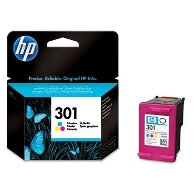 Genuine HP 301 Tri-Colour Ink Cartridge - (CH562EE) - The Cartridge Centre