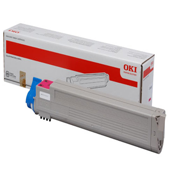Genuine Magenta OKI 43837130 Toner Cartridge - (43837130) - The Cartridge Centre