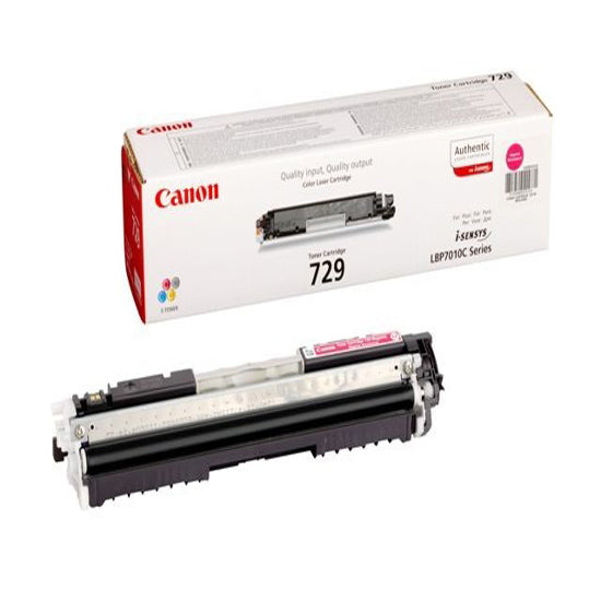 Genuine Magenta Canon 729 Toner Cartridge - (4368B002AA) - The Cartridge Centre