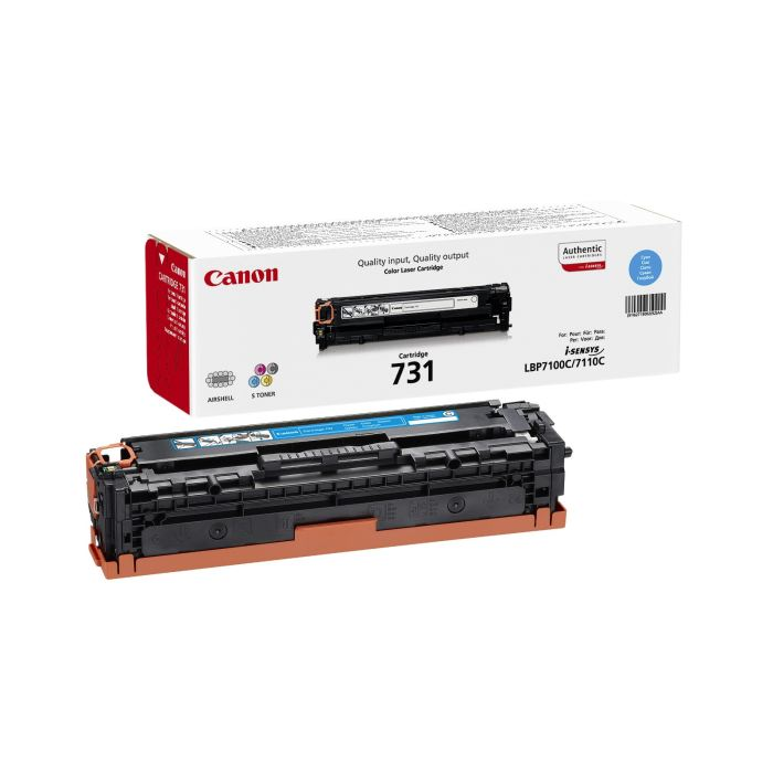 Genuine Cyan Canon 731 Toner Cartridge - (6271B002) - The Cartridge Centre