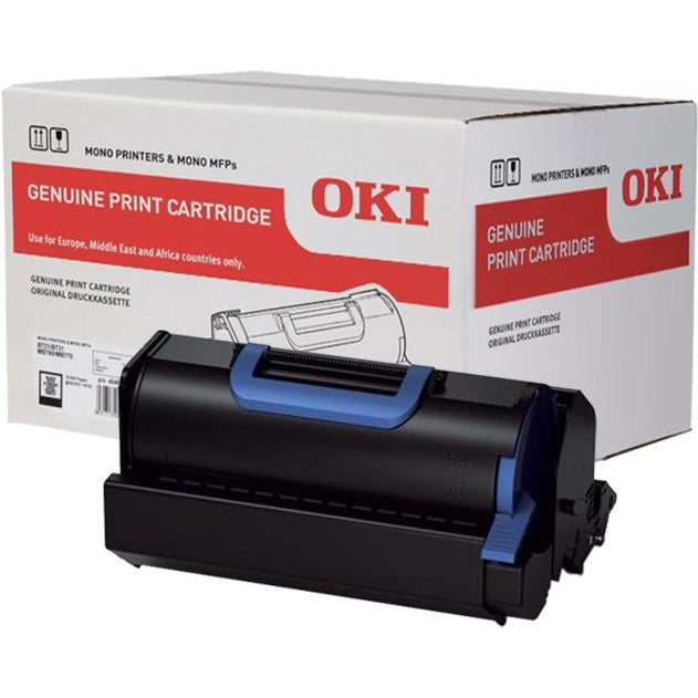Genuine Black OKI 45488802 Toner Cartridge - (45488802) - The Cartridge Centre