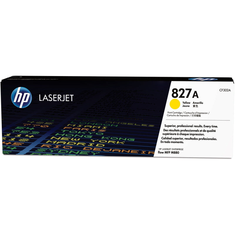 Genuine Yellow HP 827A Toner Cartridge - (CF302A) - The Cartridge Centre
