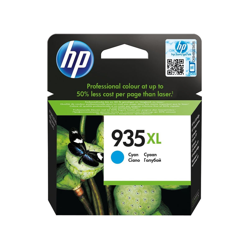 Genuine HP 935XL High Capacity Cyan Ink Cartridge - (C2P24AE) - The Cartridge Centre