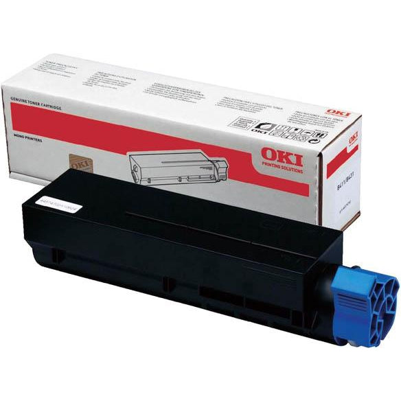 Genuine Black Oki 45807102 Toner Cartridge (45807102 Laser Printer Cartridge) - The Cartridge Centre