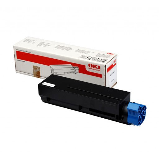 Genuine High Capacity Black Oki 45807106 Toner Cartridge (45807106 Laser Printer Cartridge) - The Cartridge Centre