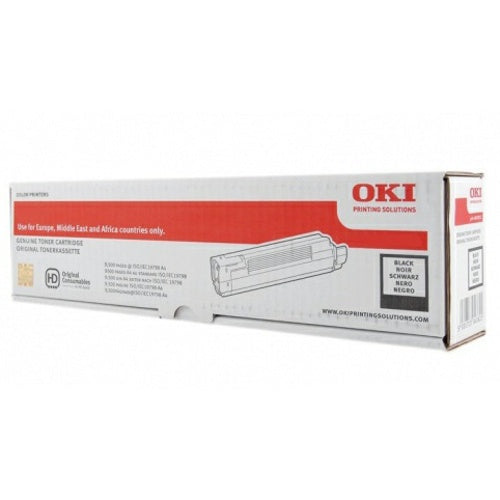 Genuine Oki 45862840 Black Toner Cartridge (45862840 Laser Printer Cartridge) - The Cartridge Centre