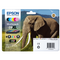 Genuine 6 Colour Epson 24XL High Capacity Ink Cartridge Multipack - (T2438 Elephant Inkjet Printer Cartridges) - The Cartridge Centre