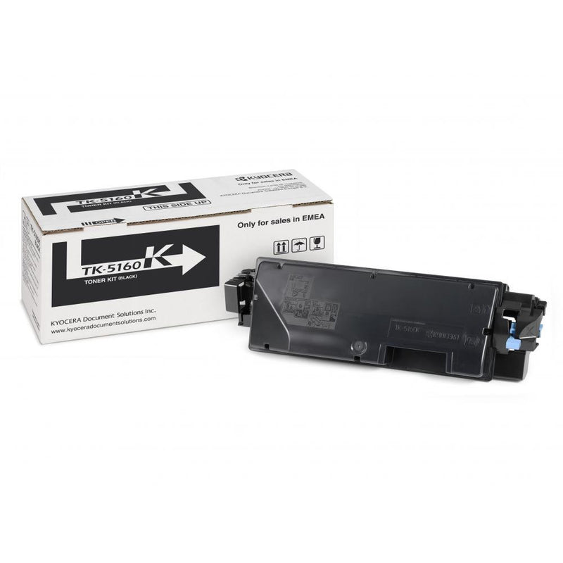 Genuine Black Kyocera TK-5160 Toner Cartridge (TK5160K Laser Printer Cartridge) - The Cartridge Centre