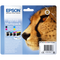 Genuine 4-Colour Epson T0715 Ink Cartridges Multipack - (T0715 Cheetah Inkjet Printer Cartridges) - The Cartridge Centre