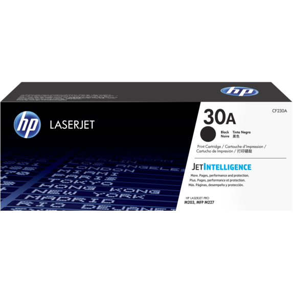Genuine Black HP 30A Toner Cartridge - (CF230A) - The Cartridge Centre