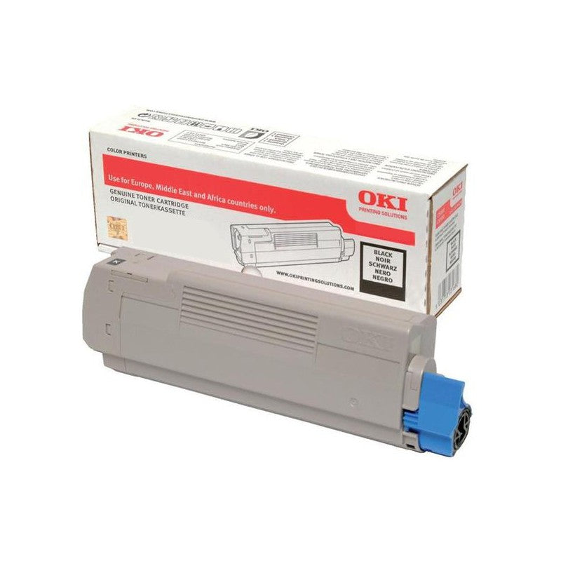 Genuine High Capacity Black Oki 46508712 Toner Cartridge - (46508712) - The Cartridge Centre