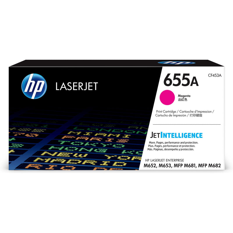 Genuine Magenta HP 655A Toner Cartridge - (CF453A) - The Cartridge Centre