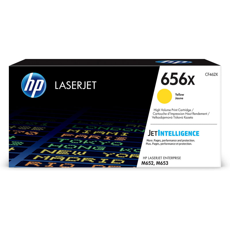 Genuine High Capacity Yellow HP 656X Toner Cartridge - (CF462X) - The Cartridge Centre