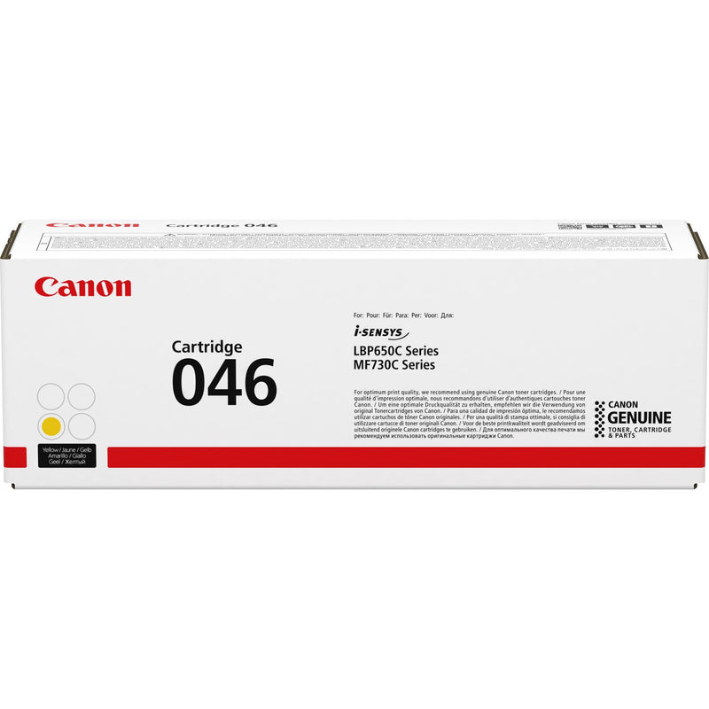Genuine Yellow Canon 046-Y Toner Cartridge (1247C002) - The Cartridge Centre