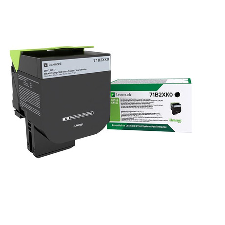 Genuine Lexmark 71B2XK0 Extra High Capacity Black Return Program Toner Cartridge (71B2XK0 Laser Printer Toner Cartridge) - The Cartridge Centre