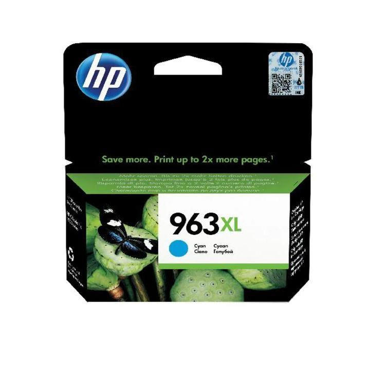 Genuine HP 963XL High Capacity Cyan Ink Cartridge (3JA27AE) - The Cartridge Centre