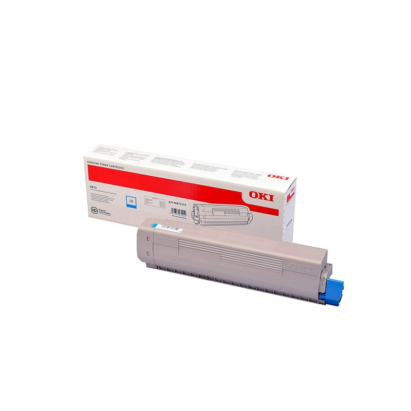 Genuine Cyan OKI 46471115 Toner Cartridge - (46471115) - The Cartridge Centre