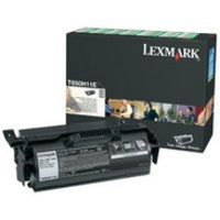 Genuine Black High Capacity Return Program Lexmark T650H11E Toner Cartridge (Lexmark 0T650H11E Laser Printer Cartridge) - The Cartridge Centre