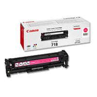 Genuine Magenta Canon 718 Toner Cartridge - (2660B002AA) - The Cartridge Centre