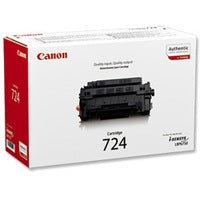 Genuine Black Canon 724 Toner Cartridge - (3481B002AA) - The Cartridge Centre