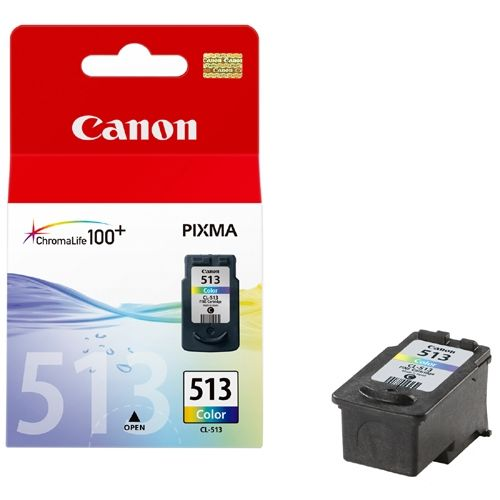 Genuine Canon CL-513 High Capacity Tri-Colour Ink Cartridge - (2971B001AA) - The Cartridge Centre