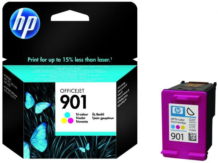 Genuine HP 901 Tri-Colour Ink Cartridge - (CC656AE) - The Cartridge Centre