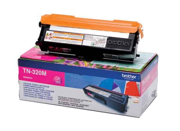 Genuine Extra High Capacity Magenta Brother TN-328M Toner Cartridge (TN328M Laser Printer Cartridge) - The Cartridge Centre