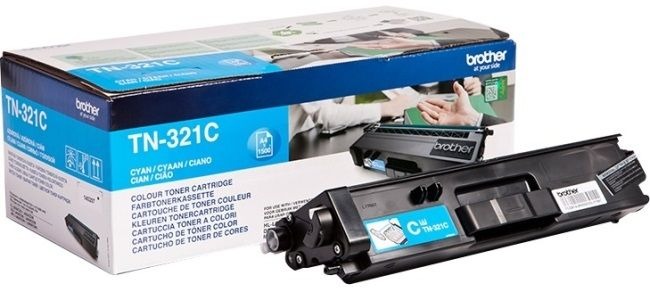 Genuine Cyan Brother TN-321C Toner Cartridge (TN321C Laser Printer Cartridge) - The Cartridge Centre