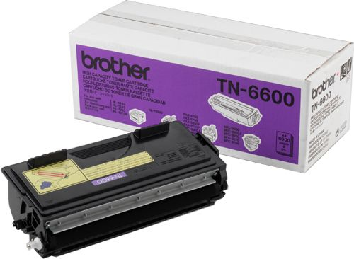 Genuine Brother TN-6600 High Capacity Black Toner Cartridge (TN6600 Laser Printer Cartridge) - The Cartridge Centre