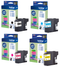 Genuine Light User Brother LC221 4 Colour Ink Cartridge Multipack (LC221BK/LC221C/LC221M/LC221Y) - The Cartridge Centre