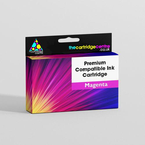 Premium Compatible Magenta Epson T1283 Printer Cartridge - (Replaces Epson T1283 Fox Inkjet Printer Cartridge) T128TCC - The Cartridge Centre
