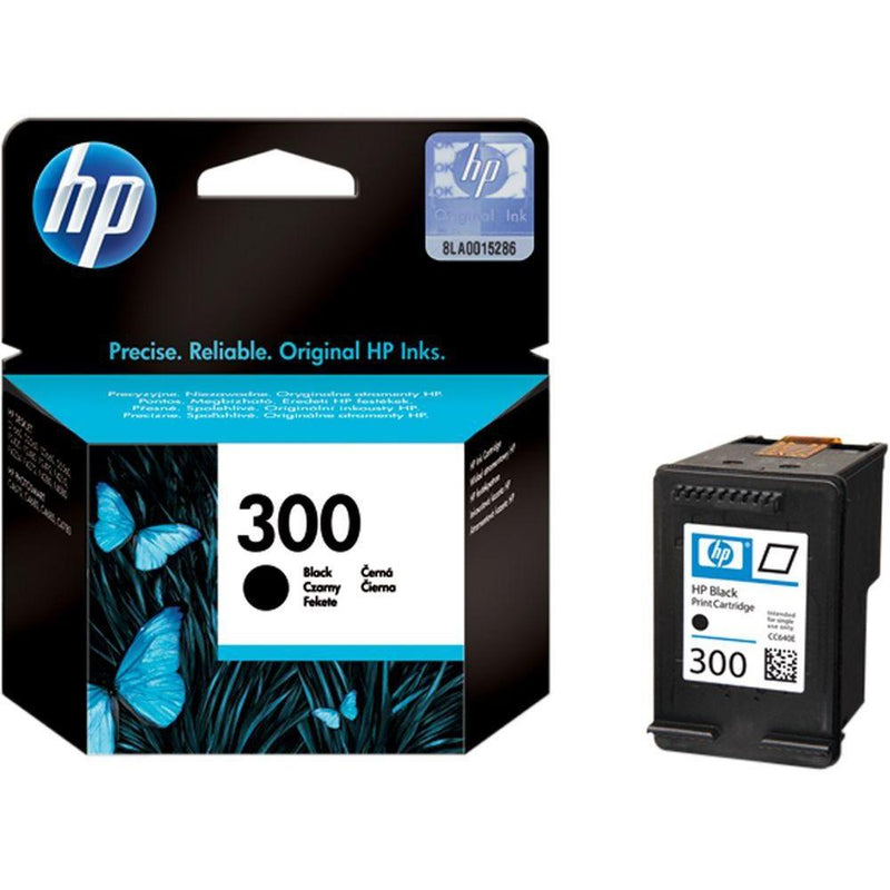 Genuine HP 300 Black Ink Cartridge - (Vivera CC640EE) - The Cartridge Centre