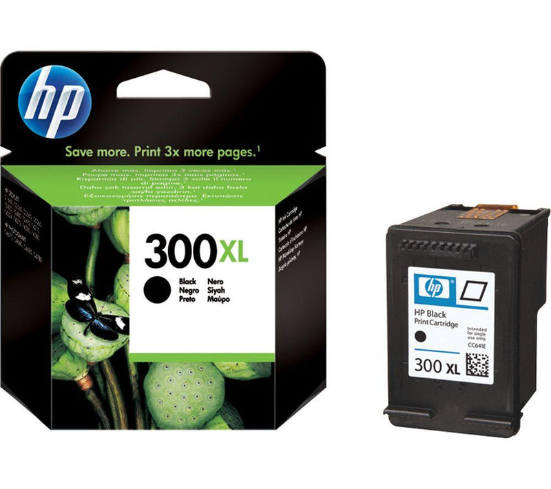 Genuine HP 300XL High Capacity Black Ink Cartridge - (CC641EE) - The Cartridge Centre