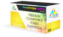 Premium Compatible HP 201X High Capacity Yellow Toner Cartridge (HP CF402X) - The Cartridge Centre