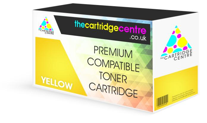 Premium Compatible HP LaserJet CP3525DN Yellow Toner Cartridge (HP CE252A) - The Cartridge Centre