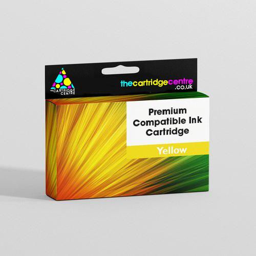 Premium Compatible High Capacity Yellow Epson 18XL Printer Cartridge - (Replaces Epson T1814 Daisy Inkjet Printer Cartridge) T181TCC - The Cartridge Centre