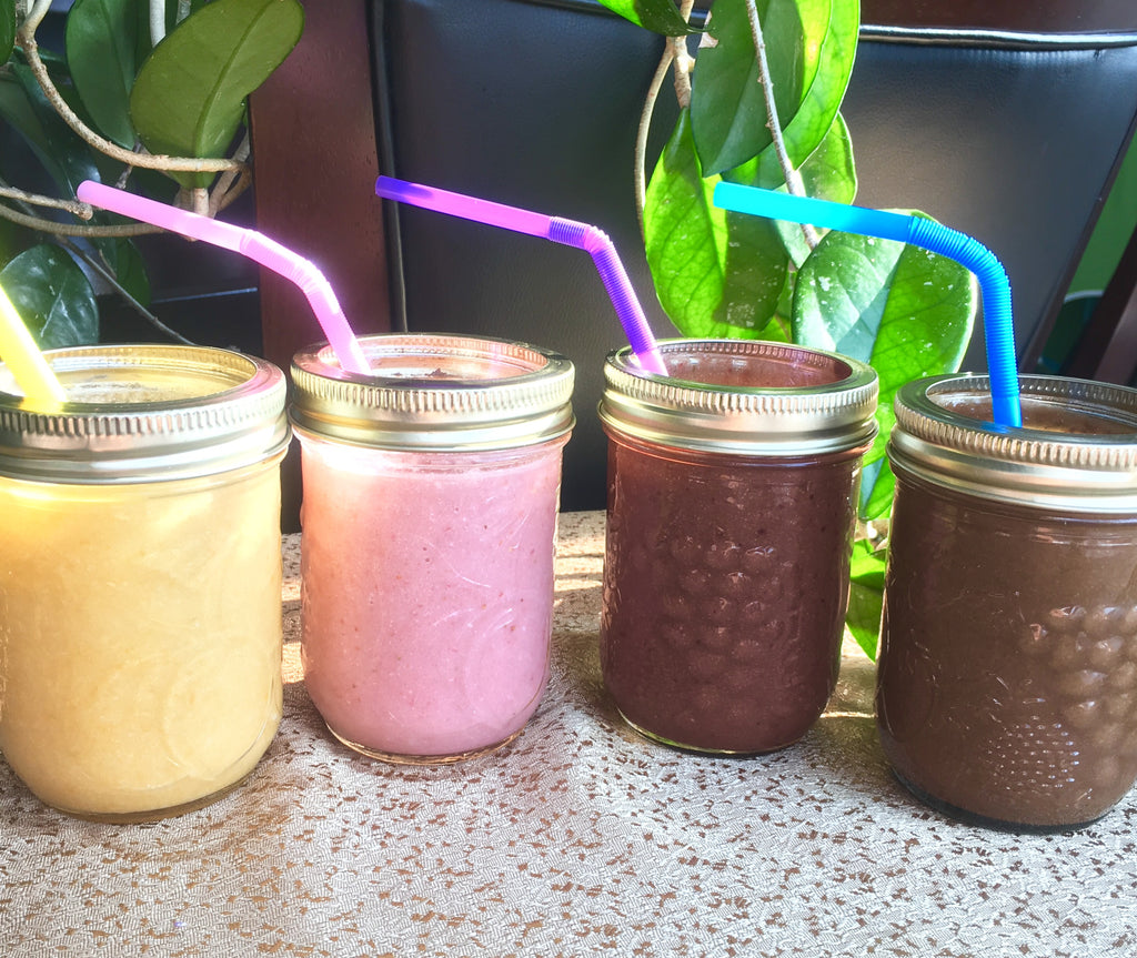 4 Veggie packed smoothies