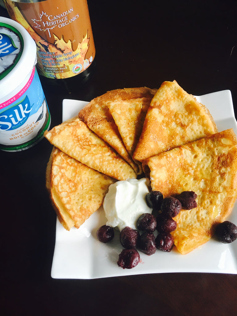 Gluten and Dairy free Crepes