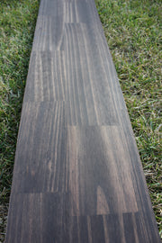 Custom Height Boards - Dark Walnut Stain