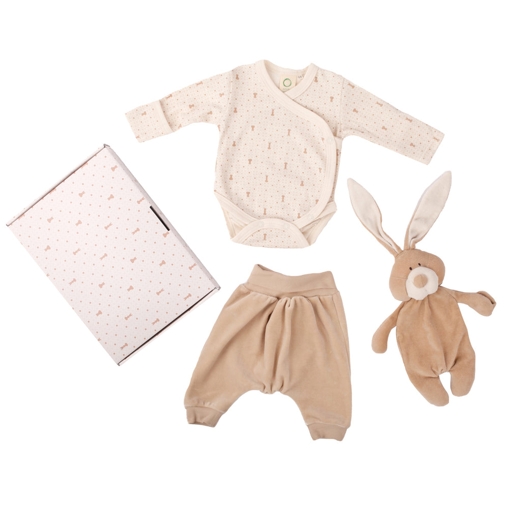 Large - Organic cotton gift set